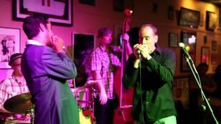 Aki Kumar and David Barrett - blues harp duet Part I (2013)