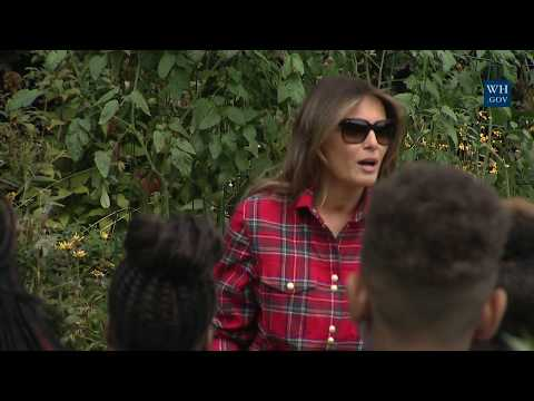 Download The First Lady Hosts a White House Kitchen Garden Event