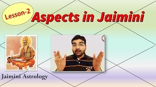 Jaimini Aspects (Jaimini Jyotish) - Lesson-2 (Vedic Astrology)