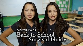 Back to School Survival Guide - Merrell Twins