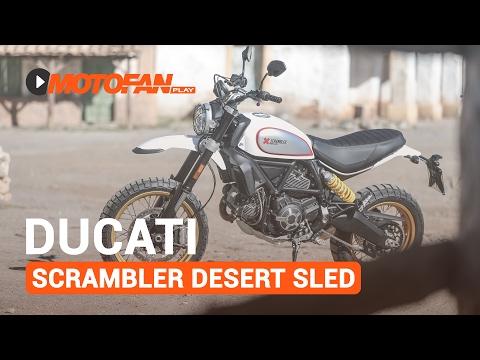 Vídeos de la Ducati Scrambler Desert Sled