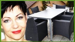 Gartenmöbel Polyrattan Geflechtmöbel kaufen Kaufentscheidung Gartensitzgruppe Holz Dostler Bayreuth
