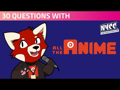 30 Questions with All the Anime! | Nostalgia, Guilty Pleasures, Tattoo Shockers & Weird Mystery Boxes...