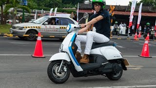 Lái thử xe tay ga điện Kymco Many EV - có số lùi, chạy được 200 km, pin thuê tháng   Xe.tinhte.vn