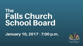 School Board Meeting: January 10, 2017