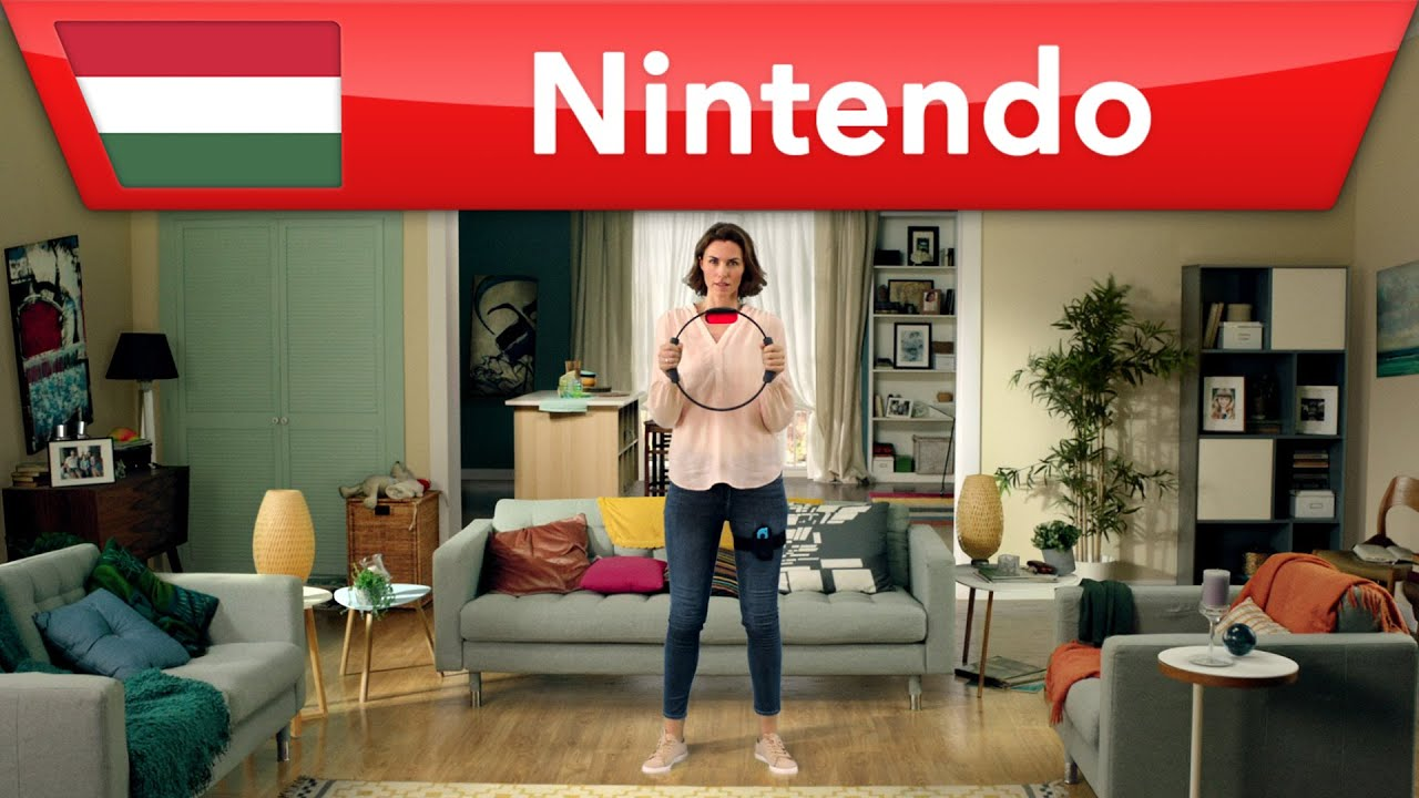 Ring Fit Adventure - Szórakoztató fitnesz az egész családnak | Nintendo Switch