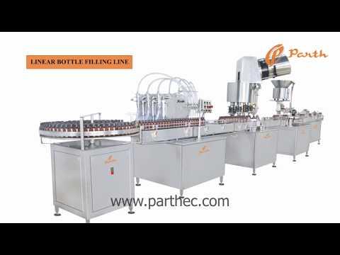 Automatic Liquid Syrup Filling Machine