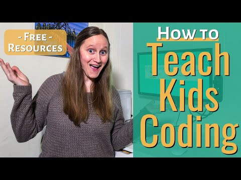 How to Teach Kids Coding | Teach Coding for Free with NO Experience