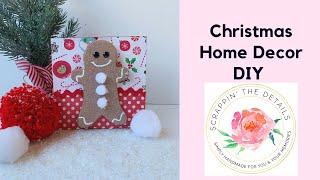 Christmas Crafts DIY - Christmas Wood Decor