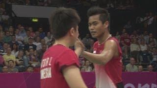 Ahmad & Natsir (INA) Wins Badminton Mixed Doubles Gold - London 2012 Olympics