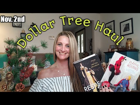 Dollar Tree Haul 💕New Items💕 Sneak Peek/Nov 2nd