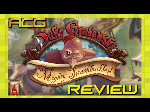 "Duke Grabowski, Mighty Swashbuckler review ""Buy, Wait for Sale, Rent, Never Touch?"" - YouTube video thumbnail"