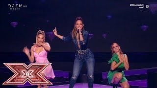 «Ain't your mama» από τη Λίλα Τριάντη | Live 1 | X Factor Greece 2019