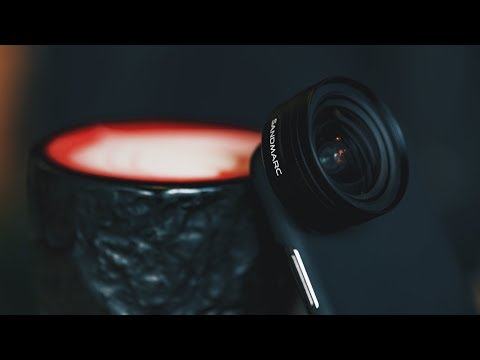 Wide Angle Smartphone Lens Review for iPhone X by SANDMARC