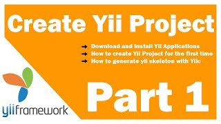 Learn Yii Framework Part 1: Creating Yii application for the first time
