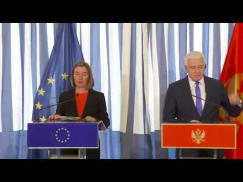 Remarks by HRVP Mogherini at the press conference with Duško Marković, Prime Minister of Montenegro