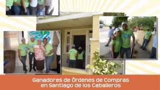 preview picture of video 'Nuestros felices ganadores en Santiago de los Caballeros'