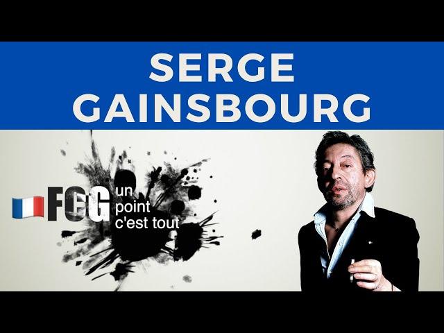 Vidéo Prononciation de Serge Gainsbourg en Français