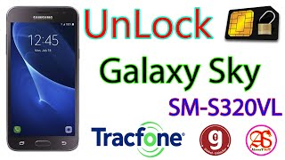 SAMSUNG Galaxy Sky | UnLock SIM Card SM-S320VL | BY-global Unlocker Pro