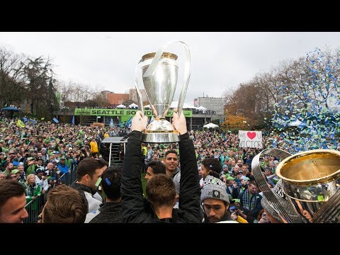 Sounders celebrate MLS Cup win with Parade & Rally