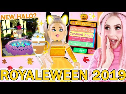 Autumn Town Is Finally Here Reacting To Autumn Town Royale High Brand New Update Roblox - Reacting To The Brand New Fall 2019 Royale High Update