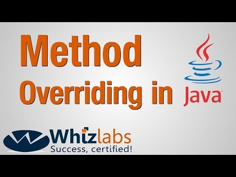 Method Overriding in Java   SCJP 6/ OCPJP 6 Certification - YouTube