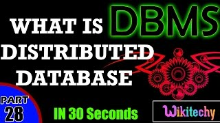What is a Distributed Database | Distributed Database Examples | Dbms Interview Questions