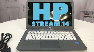 HP Stream 14 Intel Celeron 4GB RAM 32GB SSD Windows 10 Laptop First Look