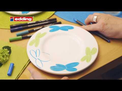 edding Porzellan Pinselstift e4200 no VO DEU