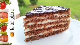 МЕДОВИК БЕЗ ВЫПЕЧКИ / Медовый торт без выпекания. Невероятно вкусный и нежный! Honey cake without