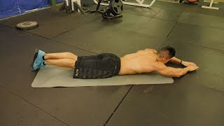 Bodyweight Chest & Back Workout by Six Pack Shortcuts & Abs After 40