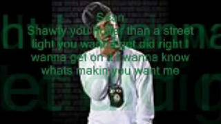 Plies ft. Sean Garret- Street Lights (official lyrics)