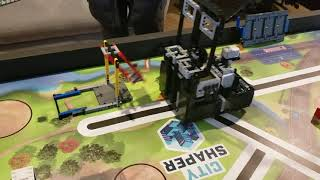 FLL City Shaper 2019 Traffic Jam, Swing, Elevator, and Elevated Places