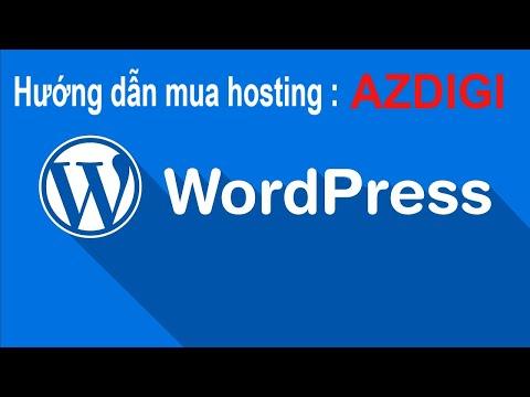 Hướng dẫn mua hosting chất lượng tại AZDIGI - hosting top đầu việt nam