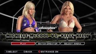 [Game Offline] Đô vật Mỹ - Michelle McCool vs Kelly Kelly