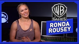 Mortal Kombat 11 - Interview de Ronda Rousey