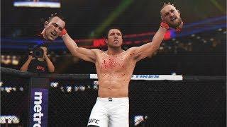 ОТЕЦ ТРЕШТОКА в UFC 3 RANKED ТОП 1 ЧЕЙЛ СОННЕН