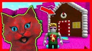 Приключения мульт игры RoBlox в Сладкой стране ROBLOX CANDY OBBY детские игры от канала КОТ ВАЛЕРКА