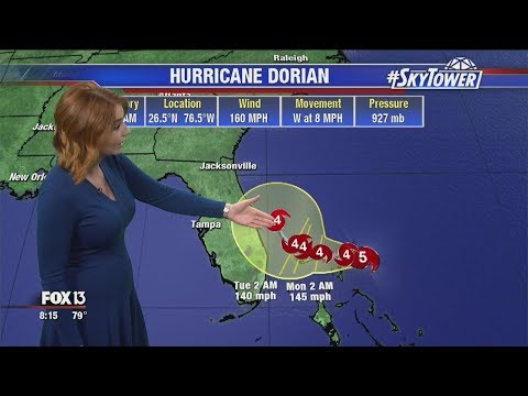 Tropical weather forecast & Dorian update: Sept. 1, 2019