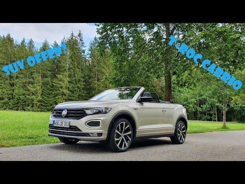 SUV offen fahren? 2020 VW T-ROC Cabriolet 150PS - Review, Test, Fahrbericht