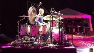 Steve Smith Drum Solo with Journey: Mt. Pleasant, MI 2017