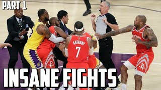 Insane NBA Fights Compilation Part 1