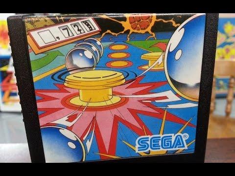 Classic Game Room - SEGA FLIPPER review for Sega SG-1000