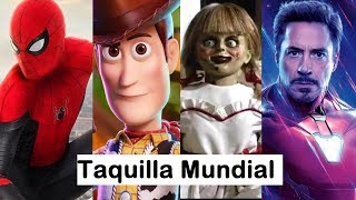 Toy Story 4 roza los 500 millones, Annabelle 3 se recupera, Spider-Man conquista Asia, Avengers4.