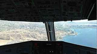 preview picture of video 'Landing at Eilat Airport'