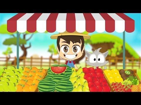 Fruits in Arabic for Kids - أسماء الفواكه باللغة العربية للأطفال