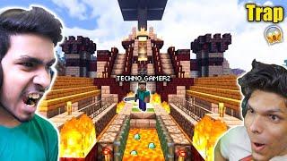 I am Pranked on Techno Gamerz Minecraft | @Mythpat, @Techno Gamerz | @Live Insaan | MCPE | Minecraft