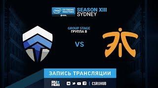 Chiefs vs fnatic - IEM Sydney XIII - de_mirage [GodMint, Anishared]