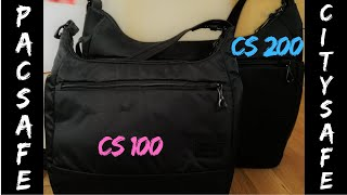 Pacsafe Citysafe CS 100 & Citysafe CS 200 - Anti-Diebstahl Tasche