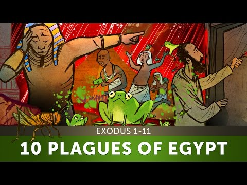 Sunday School Lesson - The 10 Plagues of Egypt - Exodus 1-11 - Bible Teaching Stories for VBS